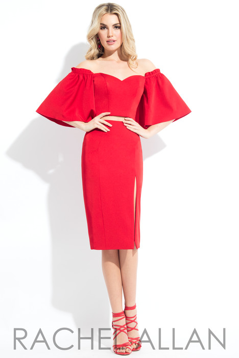 L1085 (Red) Prom                                             dress by Rachel Allan : LBD