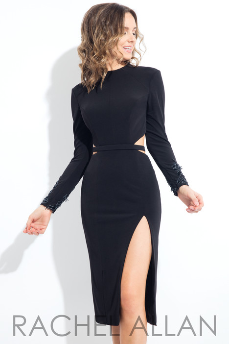 L1087 (Black) Prom                                             dress by Rachel Allan : LBD