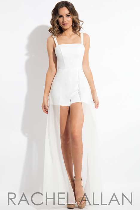 L1095 (White) Prom                                             dress by Rachel Allan : LBD
