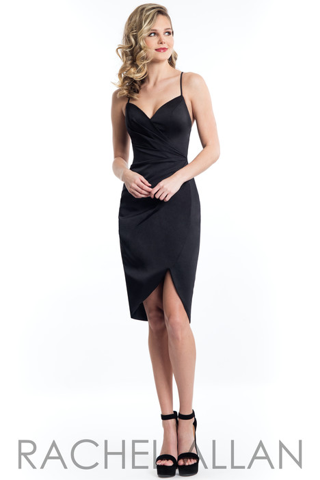 L1099 (Black) Prom                                             dress by Rachel Allan : LBD