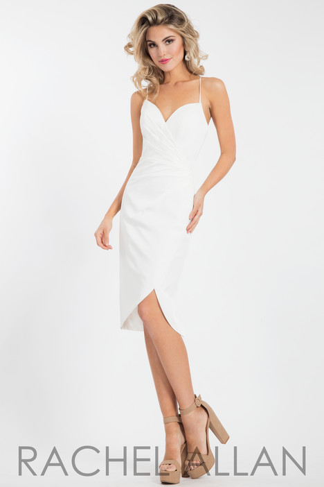 L1099 (White) Prom                                             dress by Rachel Allan : LBD