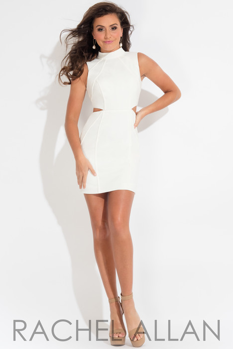L1105 (White) Prom                                             dress by Rachel Allan : LBD
