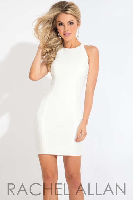 L1119 (White) Prom                                             dress by Rachel Allan : LBD