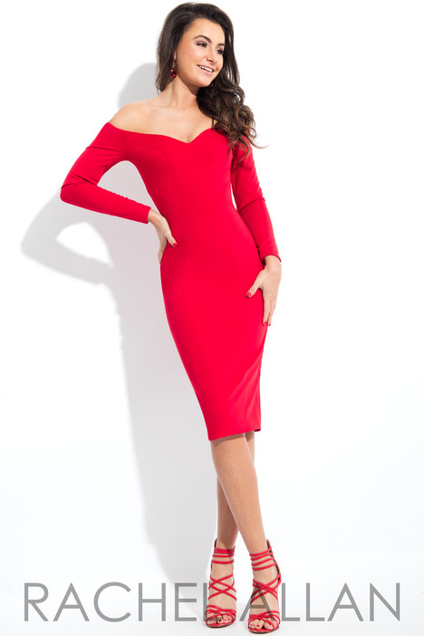 L1121 (Red) Prom                                             dress by Rachel Allan : LBD