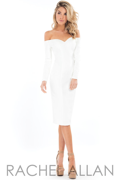 L1121 (White) Prom dress by Rachel Allan : LBD