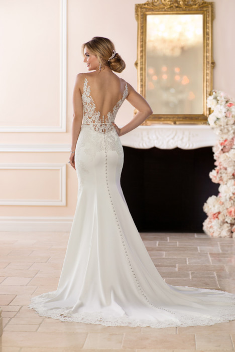 6648 (back) Wedding                                          dress by Stella York