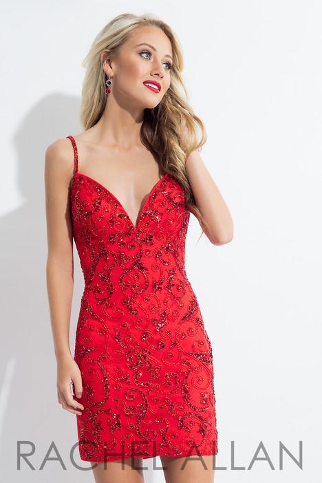 L1124 (Red) Prom                                             dress by Rachel Allan : LBD