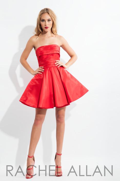 L1137 (Red) Prom                                             dress by Rachel Allan : LBD