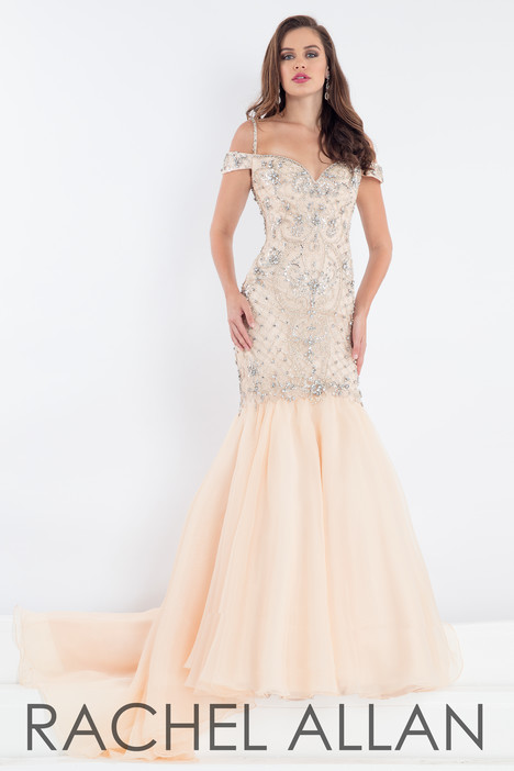 5000 (Champagne) Prom                                             dress by Rachel Allan : Prima Donna