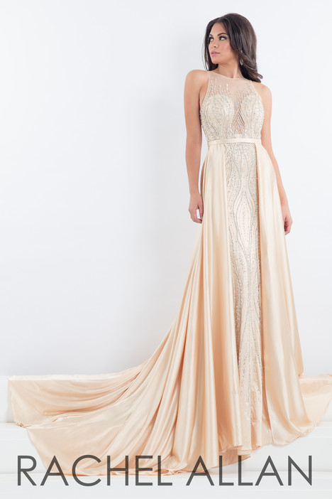 5003 (Champagne) Prom dress by Rachel Allan : Prima Donna