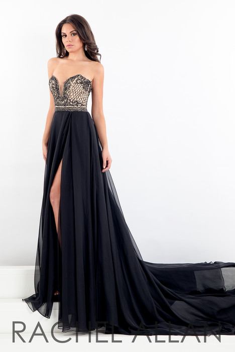 5006 (Black) Prom                                             dress by Rachel Allan : Prima Donna