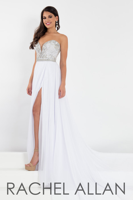 5006 (White) Prom                                             dress by Rachel Allan : Prima Donna