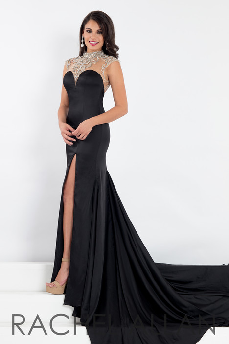5008 (Black) gown from the 2018 Rachel Allan : Prima Donna collection, as seen on dressfinder.ca