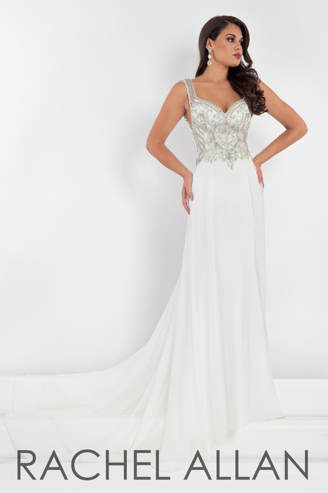 5009 (White) Prom                                             dress by Rachel Allan : Prima Donna
