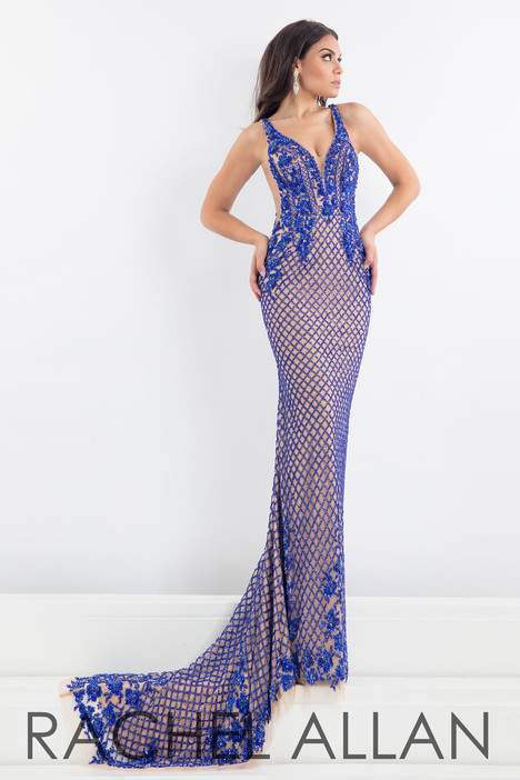 5010 (Blue) Prom                                             dress by Rachel Allan : Prima Donna