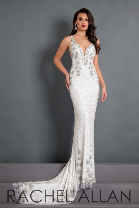 5010 (White) Prom                                             dress by Rachel Allan : Prima Donna