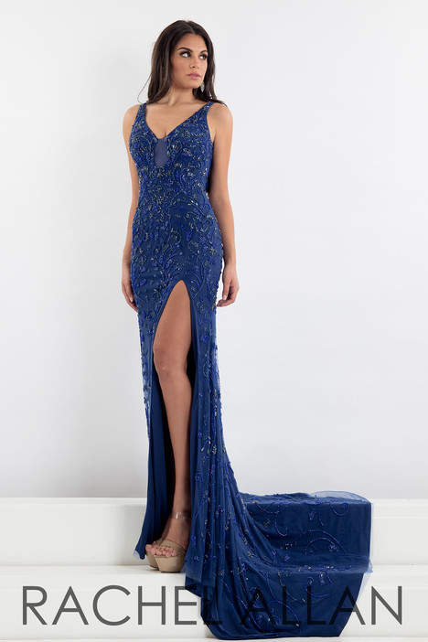 5012 (Navy) Prom                                             dress by Rachel Allan : Prima Donna