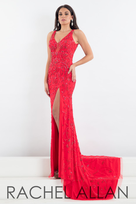 5012 (Red) Prom                                             dress by Rachel Allan : Prima Donna