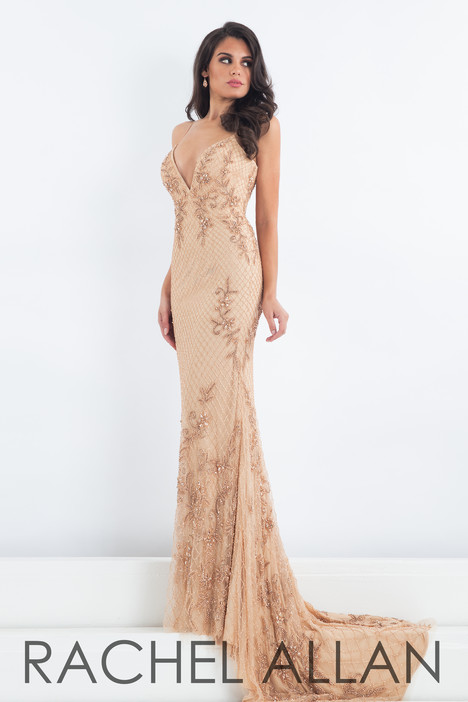5014 (Champagne) Prom                                             dress by Rachel Allan : Prima Donna
