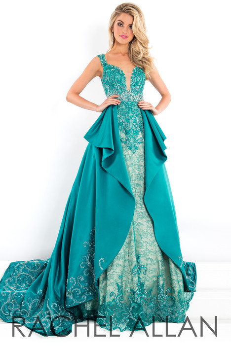5942 (Green) Prom                                             dress by Rachel Allan : Prima Donna