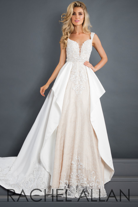 5942 (White) Prom                                             dress by Rachel Allan : Prima Donna