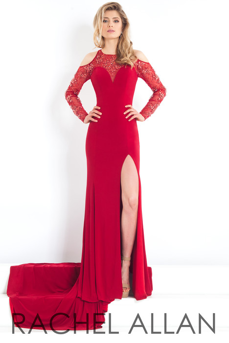 5943 (Red) Prom                                             dress by Rachel Allan : Prima Donna