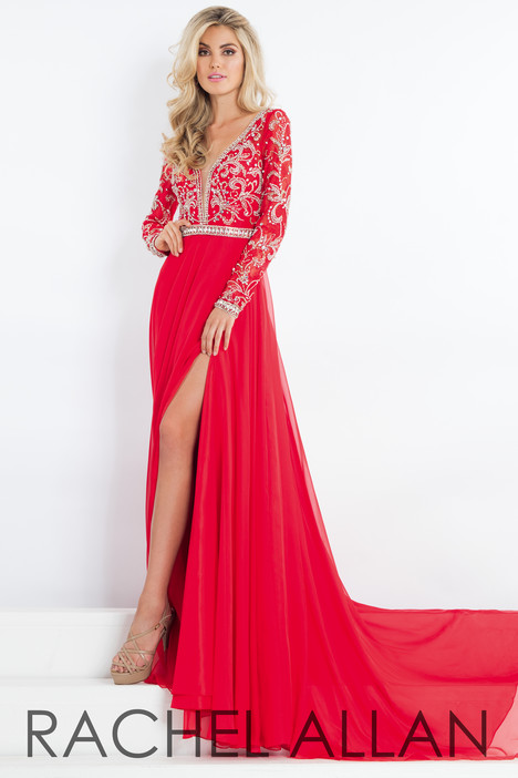 5944 (Red) Prom                                             dress by Rachel Allan : Prima Donna