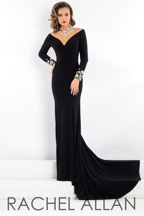 5947 (Black) Prom                                             dress by Rachel Allan : Prima Donna