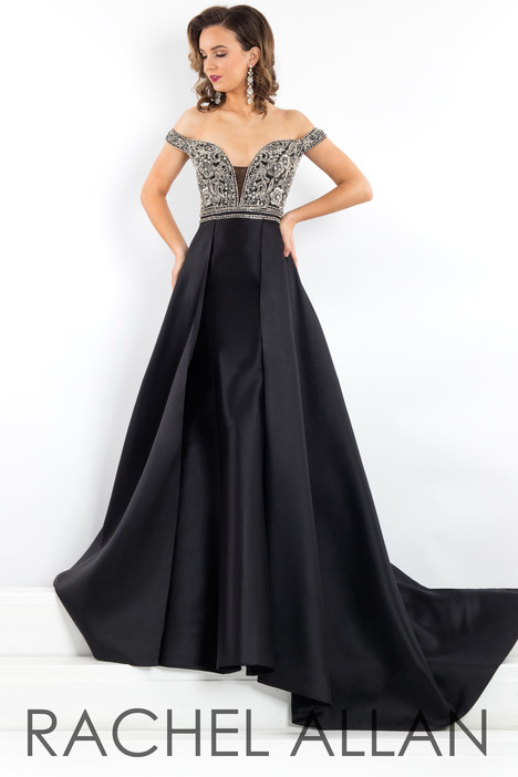 5950 (Black) Prom dress by Rachel Allan : Prima Donna