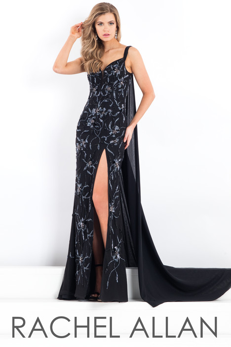 5954 (Black) Prom dress by Rachel Allan : Prima Donna
