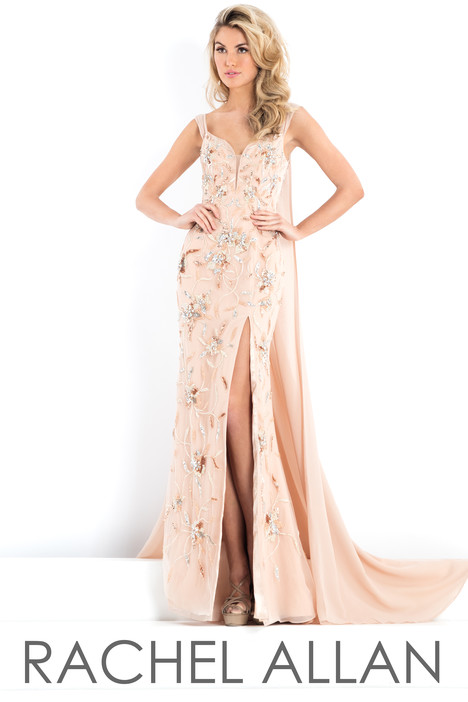 5954 (Champagne) Prom dress by Rachel Allan : Prima Donna