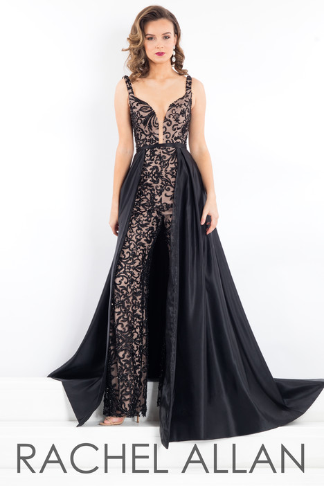 5956 (Black) Prom dress by Rachel Allan : Prima Donna