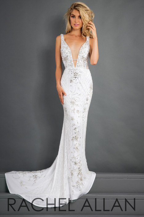 5957 (White) gown from the 2018 Rachel Allan : Prima Donna collection, as seen on dressfinder.ca