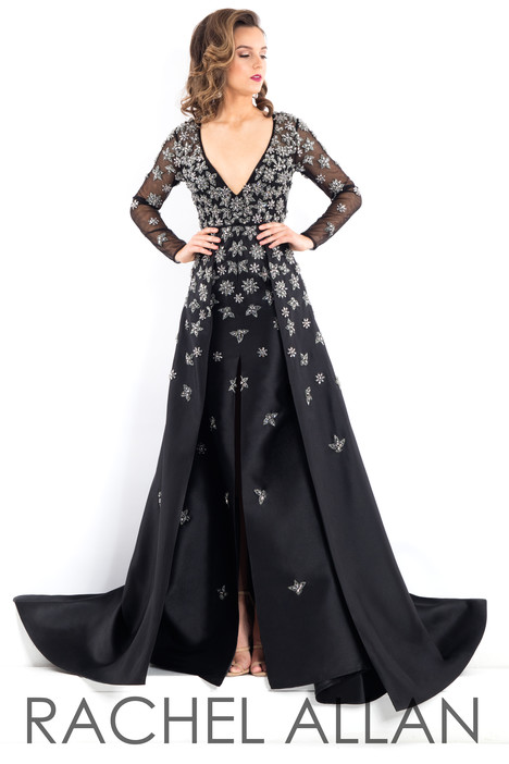 5962 (Black) Prom                                             dress by Rachel Allan : Prima Donna