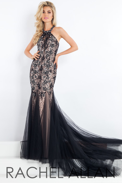 5963 (Black) gown from the 2018 Rachel Allan : Prima Donna collection, as seen on dressfinder.ca
