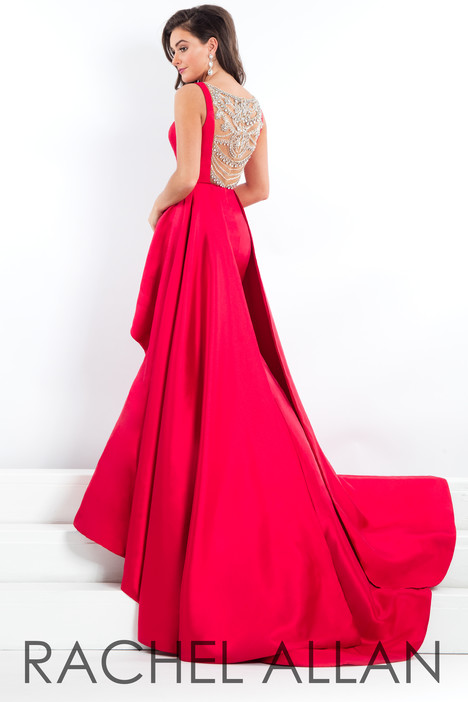 5965 (Red) (back) Prom                                             dress by Rachel Allan : Prima Donna