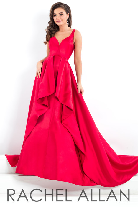 5965 (Red) Prom                                             dress by Rachel Allan : Prima Donna