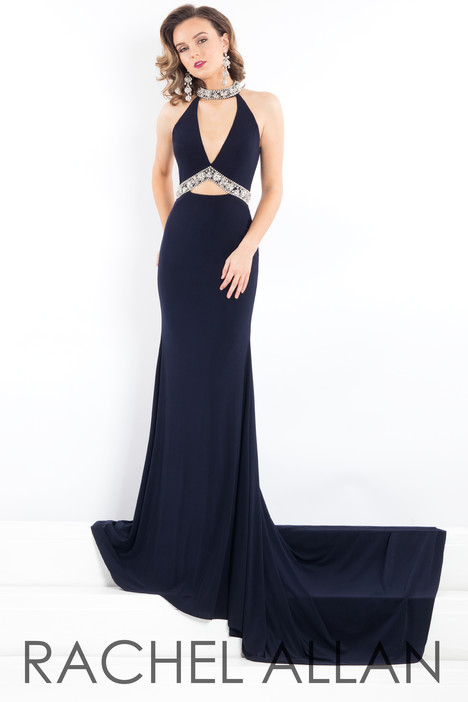 5966 (Black) gown from the 2018 Rachel Allan : Prima Donna collection, as seen on dressfinder.ca