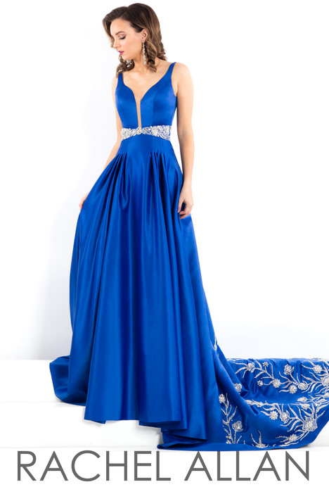 5970 (Royal) gown from the 2018 Rachel Allan : Prima Donna collection, as seen on dressfinder.ca