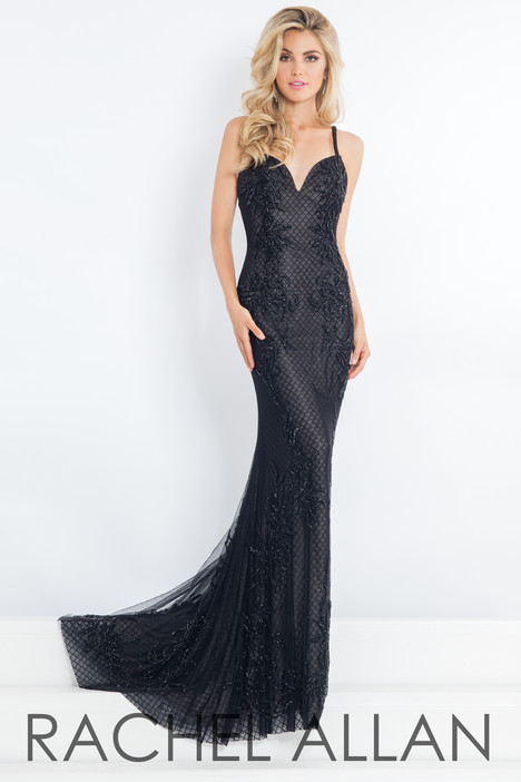 5975 (Black) gown from the 2018 Rachel Allan : Prima Donna collection, as seen on dressfinder.ca