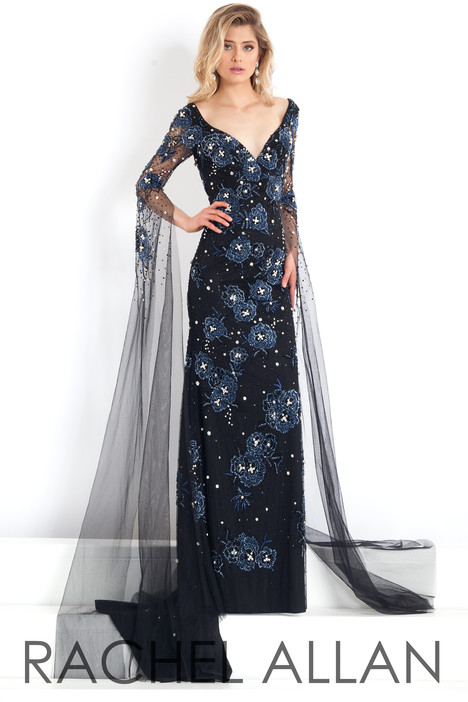 5976 (Black) gown from the 2018 Rachel Allan : Prima Donna collection, as seen on dressfinder.ca