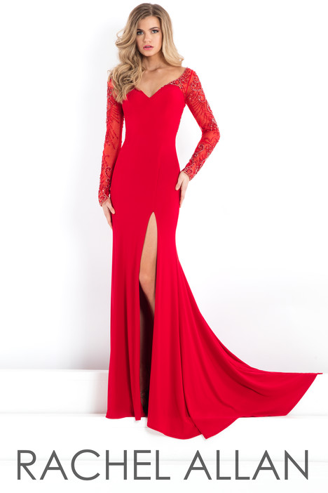 5978 (Red) gown from the 2018 Rachel Allan : Prima Donna collection, as seen on dressfinder.ca