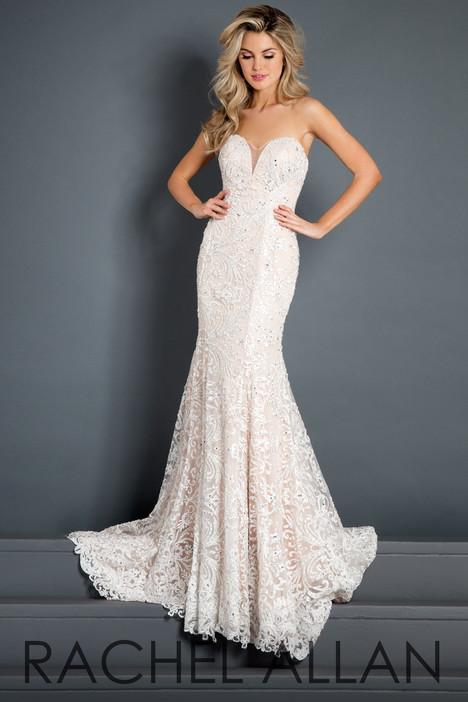 5979 (White) Prom                                             dress by Rachel Allan : Prima Donna