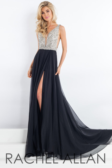 5981 (Black) gown from the 2018 Rachel Allan : Prima Donna collection, as seen on dressfinder.ca