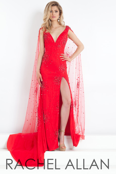 5982 (Red) gown from the 2018 Rachel Allan : Prima Donna collection, as seen on dressfinder.ca