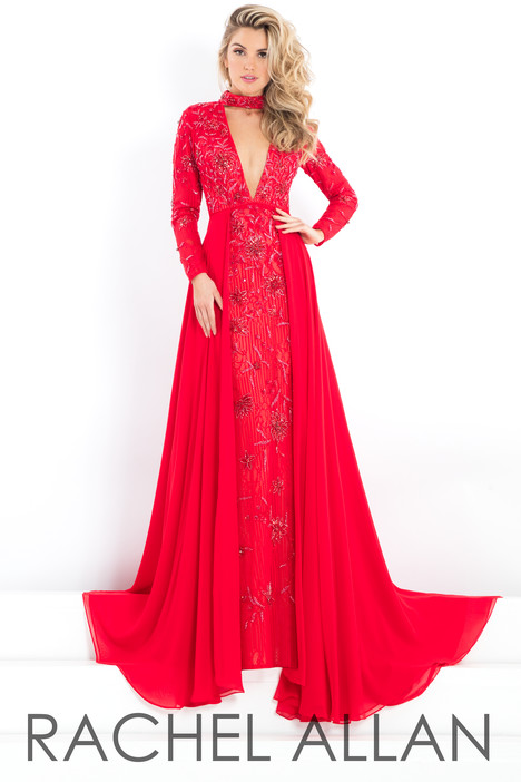 5986 (Red) Prom dress by Rachel Allan : Prima Donna