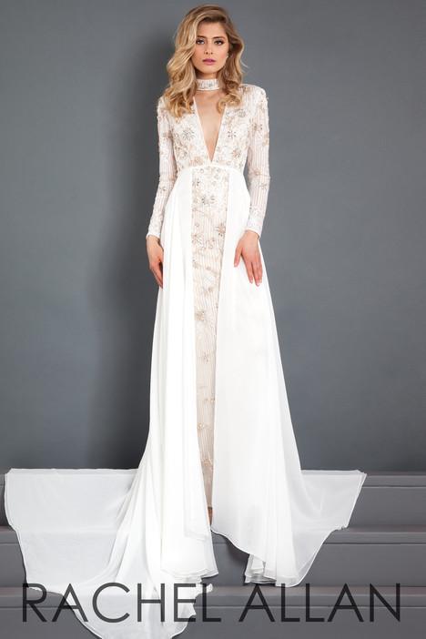 5986 (White) Prom                                             dress by Rachel Allan : Prima Donna