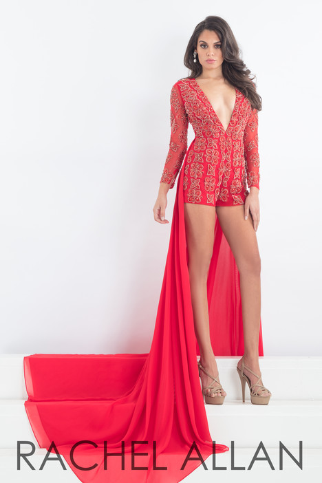 5992 (Red) gown from the 2018 Rachel Allan : Prima Donna collection, as seen on dressfinder.ca