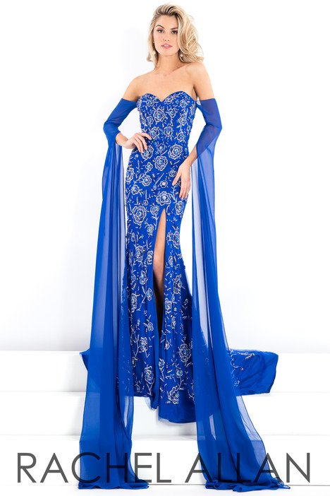 5993 (Blue) gown from the 2018 Rachel Allan : Prima Donna collection, as seen on dressfinder.ca