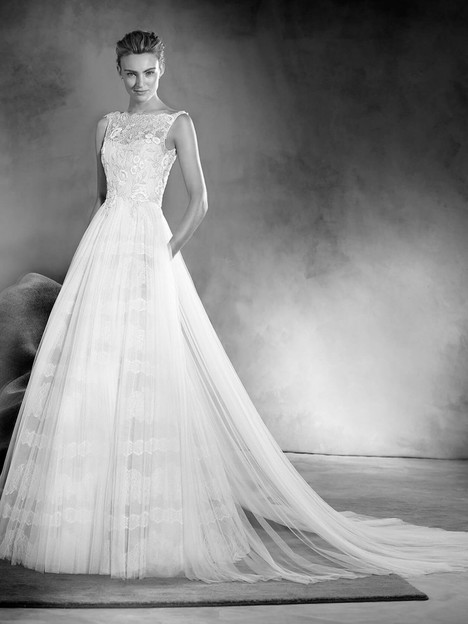 Eitana Wedding                                          dress by Pronovias Atelier